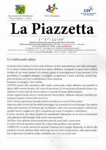 Periodico per ipovedenti la Piazzetta